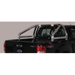 Misutonida Überrollbügel-Roll Bar-chrome- einfach, 76 mm Ford Ranger Bj. 2012-2016, 2016-
