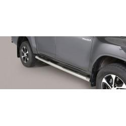 Misutonida Schwellerrohre - mit Kunststoff Trittauflage, 76 mm - Toyota