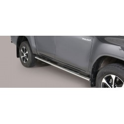 Misutonida Schwellerrohre - mit Kunststoff Trittauflage, oval - Toyota