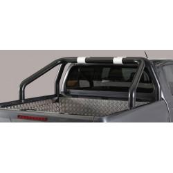 Misutonida Überrollbügel - einfach, 76 mm - schwarz - Toyota