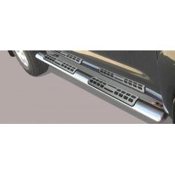 Misutonida Schwellerrohre - mit Design Trittauflage, oval - Toyota