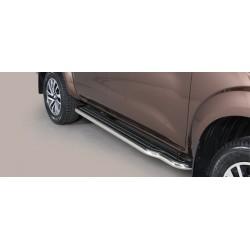 Misutonida Trittbretter - mit Kunststoff Trittfläche - Nissan Navara D/C 16-
