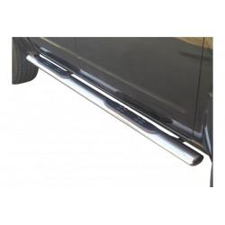 Misutonida Schwellerrohre - mit Kunststoff Trittauflage, oval - Nissan Navara