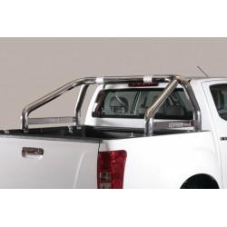 Misutonida Überrollbügel - einfach, 76 mm - Nissan Navara 16-