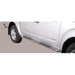 Misutonida Schwellerrohre - mit Kunststoff Trittauflage, oval - Nissan Navara D/C 10-