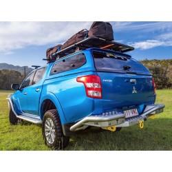 Hardtop Aeroklas mit Aufklappfenster  Mitsubishi/Fiat D/C 15-