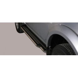 Misutonida Trittbretter - mit Kunststoff Trittfläche Mitsubishi L200 D/C 10-14