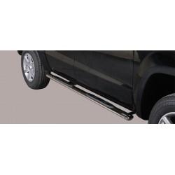 Misutonida Schwellerrohre - mit Kunststoff Trittauflage, oval - Volkswagen Amarok D/C 10-