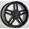 "Dirt D29 schwarz glanz/chrome Alufelge 20""  ET25 VW Amarok , Dodge Ram"