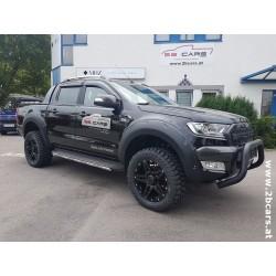 "Dirt D66 schwarz Alufelge 20"" TÜV  Ford Ranger, Fiat Fullback, Toyota Hilux, Mitsubishi L200, Isuzu D-Max"