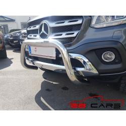 Rammschutz Frontschutzbügel Super Bar Chrome Mercedes X-Klasse