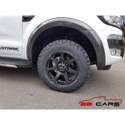 "Dirt D42 schwarz matt Alufelge 18"" ET25 Ford, Fiat, Toyota, Mitsubishi, Isuzu TÜV"