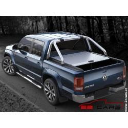 Red Rock Alu-Rollo für Original Überrollbügel - silber - Volkswagen D/C 10- Canyon