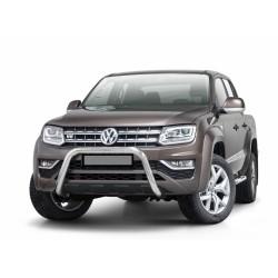 Steeler EU-Frontbügel, Rammschutz, 70 mm - Edelstahl - Volkswagen Amarok V6 TDI - PDC