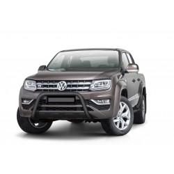 Steeler EU-Frontbügel, Rammschutz, 70 mm - schwarz - Volkswagen Amarok V6 TDI - PDC