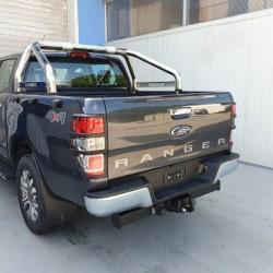 Stoßstange hinten Chrome - Ford Ranger 2012+ /2016+ /2019+ Kpl. Set