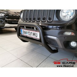 Frontschutzbügel EU-Personenschutzbügel Rammschutz Bullbar schwarz Jeep Renegade