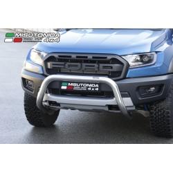 Frontschutzbügel EU-Personenschutzbügel Rammschutz Bullbar  chrome  - Ford Raptor 2,0