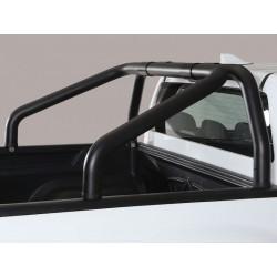 Misutonida Überrollbügel - einfach, 76 mm - schwarz - Volkswagen Amarok 10-