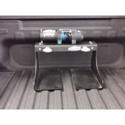 Trägerplatte für Seilwinde hoch für Laderaumrollo - Universal alle PickUp´s - HUNTING System
