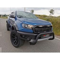 Frontschutzbügel EU-Personenschutzbügel Rammschutz Bullbar  schwarz - Ford Raptor 2,0