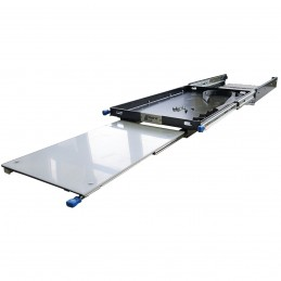 Kühlboxauszug mit Tisch