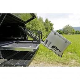 Kühlboxauszug mit Kippfunktion