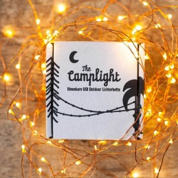 USB Camplight Lichterkette 10M