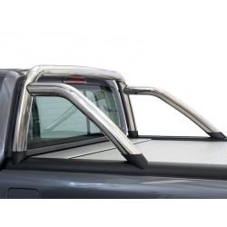 Überrollbügel für MT Rollo - polierter Edelstahl - Mitsubishi/Fiat D/C 15-