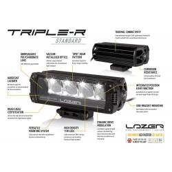 Lazer Lamps Kühlergrill LED Fernscheinwerfer Satz - Elite-3- Ranger Bj.19-