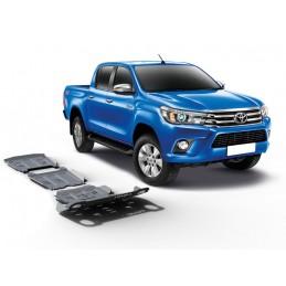 Rival Unterfahrschutz Set, 6mm Alu - Toyota Hilux 2015-