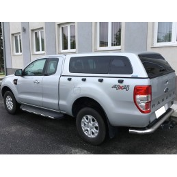 Aeroklas Stylish Hardtop mit Ausstellfenster-Zentralverriegelung-Ford Ranger 2012- Extracab/Supercab