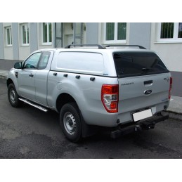 Aeroklas Commercial Hardtop mit Ausstellfenster-Ford Ranger 2012- Extracab/Supercab