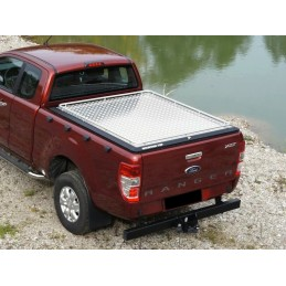 Mountain Top Heavy Duty+ Alu-Abdeckung - Ford Ranger 2012-Extracab/Supercab